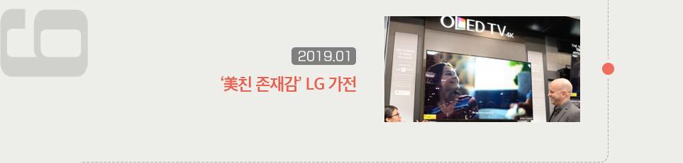 미친 존재감 LG 가전