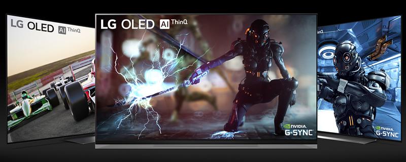 48형 올레드 TV에 적용된 NVIDIA G-SYNC 호환 기능
