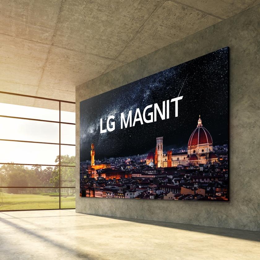 초고화질 마이크로 LED 사이니지 'LG MAGNIT' 출시