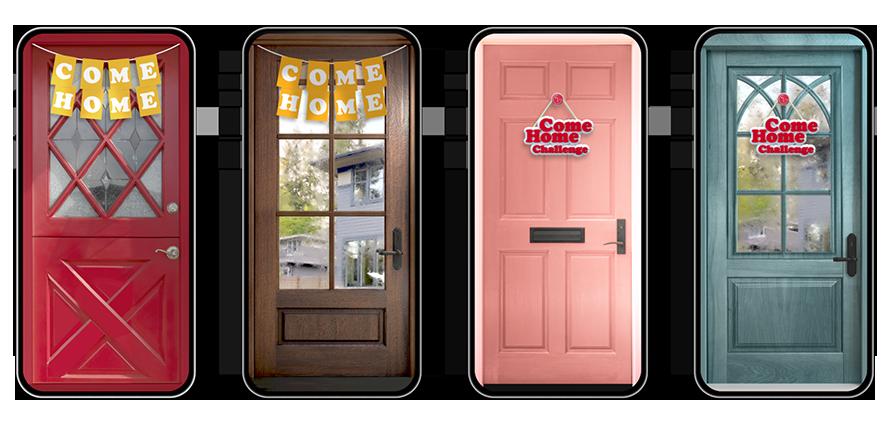 집의 문을 형상화한 AR필터