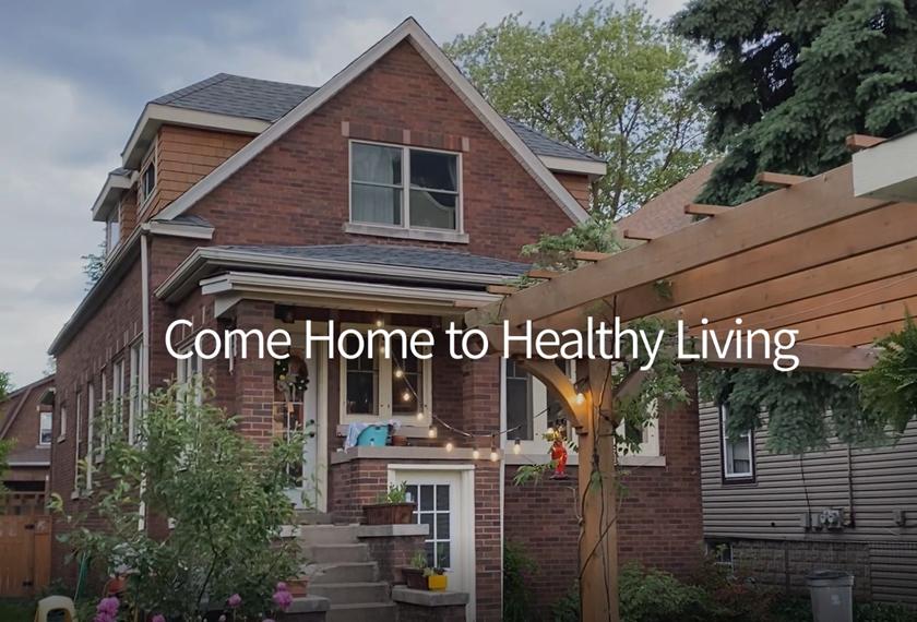 건강한 집을 나누는 'LG 컴 홈 챌린지' 기부 캠페인 비하인드