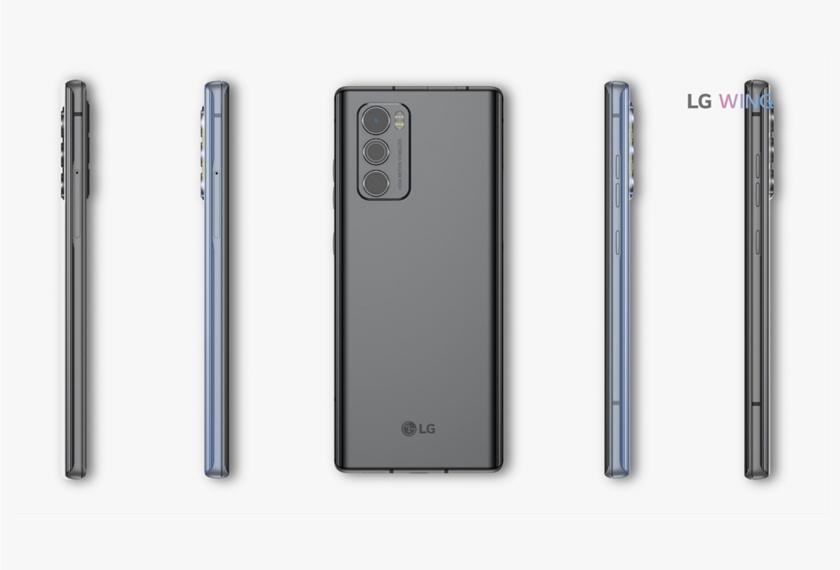 LG 윙(LG WING) 고객을 위한 혁신제안, '109만 8,900원'