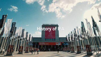 LG at IFA 2020, IFA 히스토리