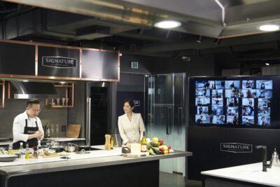 온택트 요리 수업 주인공은 超프리미엄 '시그니처 키친 스위트'