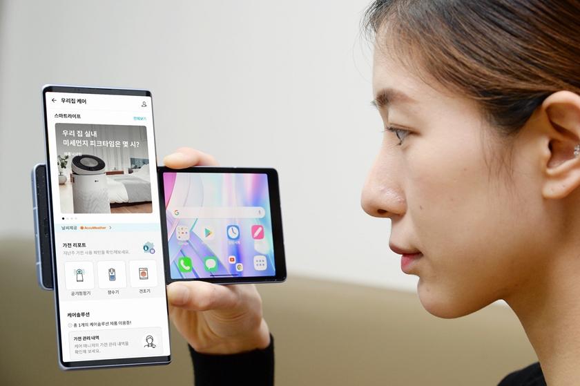 고객 케어하는 'LG 씽큐 앱' 새로운 라이프스타일 제시