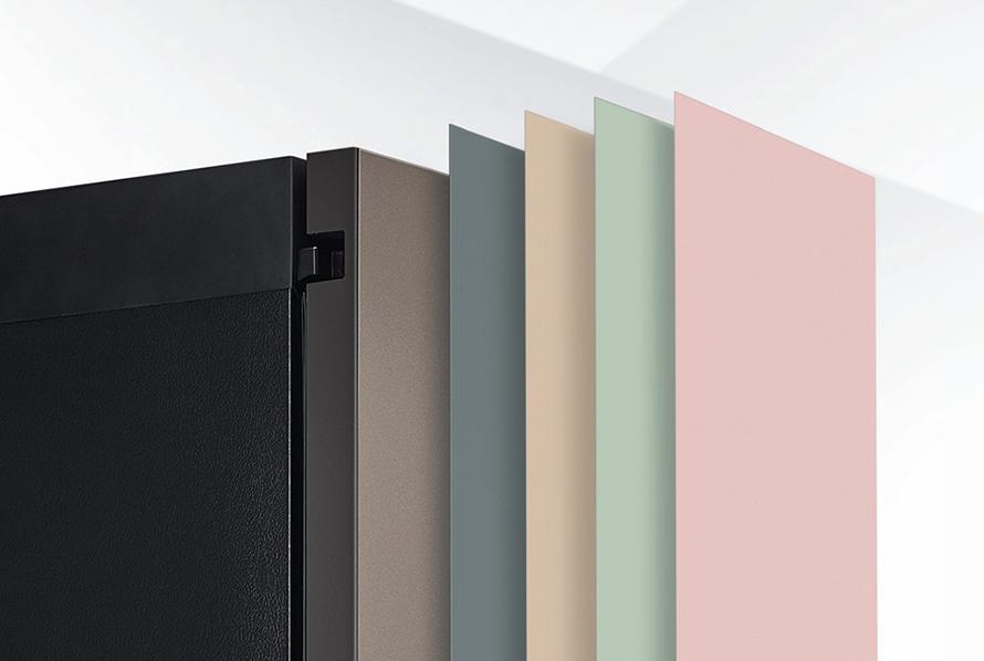 LG 오브제컬렉션 냉장고에 적용되는 페닉스 컬러