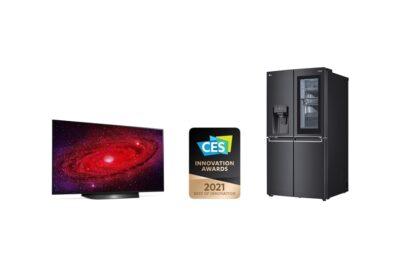 LG 올레드 TV, 2년 연속 CES 최고 혁신상 수상