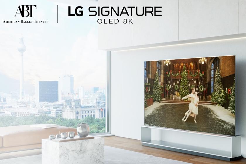 그림, 발레, 오페라와 만나는 'LG 시그니처'