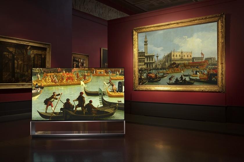 LG전자가 러시아 푸쉬킨미술관에 LG 시그니처 올레드 8K를 전시한다. 미술관 관람객들은 8K 해상도의 올레드 TV로 주요 전시작품을 생생하게 즐길 수 있다