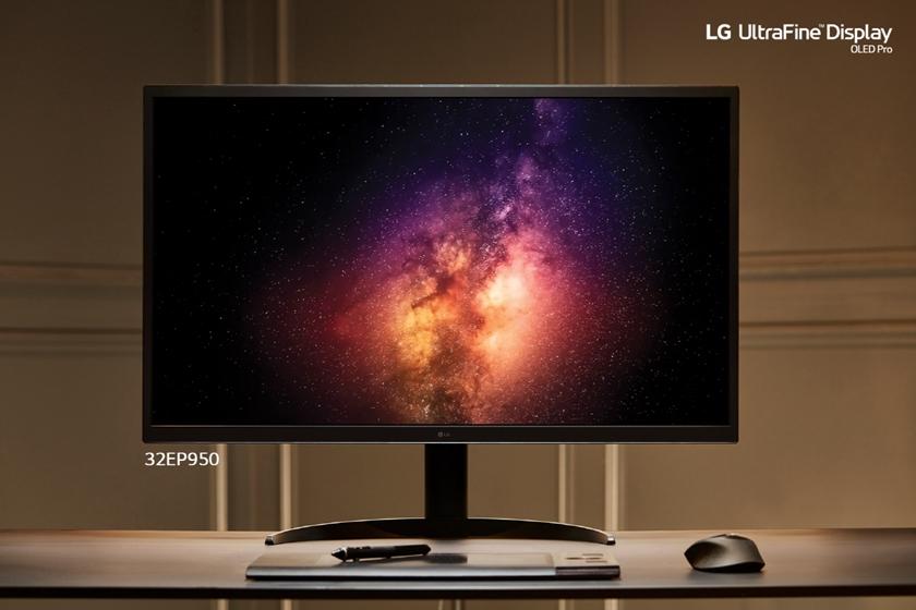 LG전자가 CES 2021에서 프리미엄 모니터 신제품을 공개하며 시장 공력을 가속화 한다. LG 울트라파인 올레드 프로 모니터 이미지.