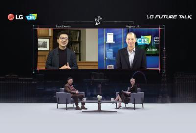 [LG at CES 2021] LG Future Talk