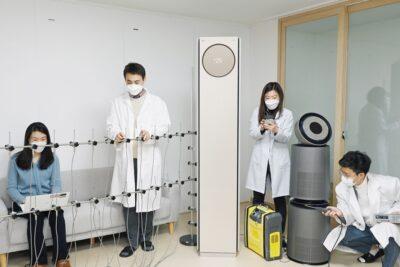 LG전자 공기과학연구소, 국가공인 시험기관 인정받았다