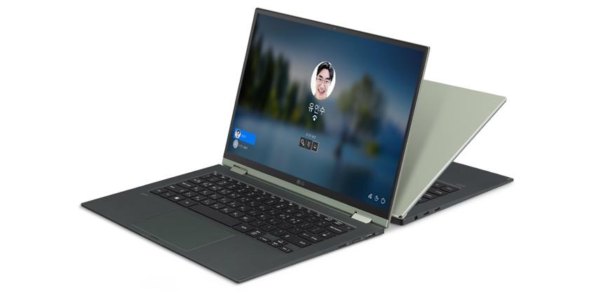 LG전자가 22일 'LG 그램(gram)'의 신규 라인업 'LG 그램 360'을 새롭게 출시하며 투인원 노트북 시장을 적극 공략한다. 이 제품은 상황에 따라 노트북, 태블릿 모드 등으로 바꿔 사용할 수 있다. 모델이 'LG 그램 360'을 소개하고 있다.