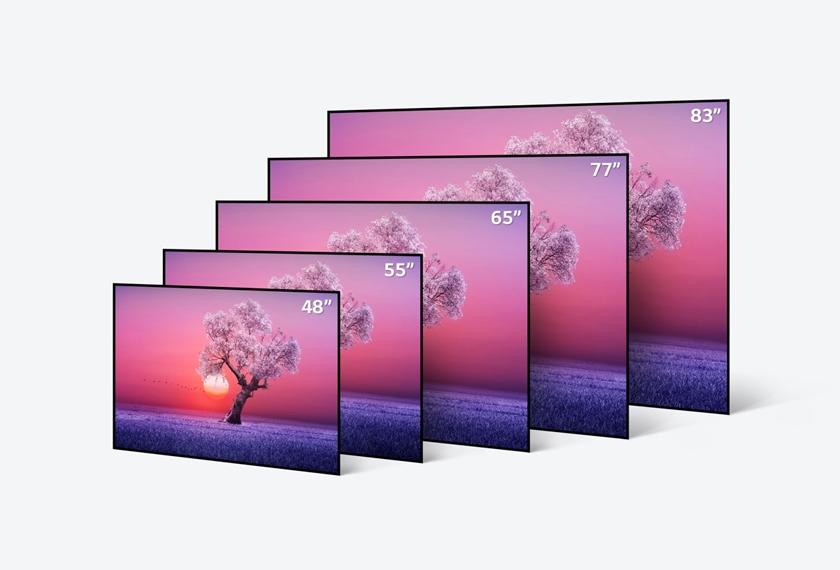 LG전자가 더 완벽한 화질의 올레드 에보(evo)를 비롯한 2021년형 LG 올레드 TV를 글로벌 주요 시장에 순차 출시한다. LG 올레드 TV는 역대 최고 성능의 올레드 에보를 필두로 최대, 최다 라인업을 갖추며 더 강력해졌다. 사진은 CES 최고 TV 수상에 빛나는 LG 올레드 TV(모델명: C1) 라인업.