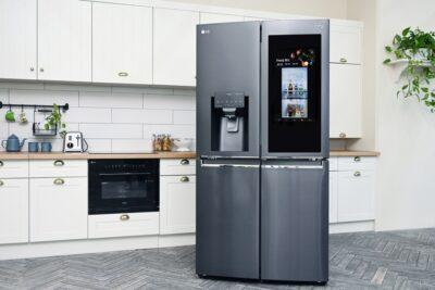 'LG 디오스 스마트 얼음정수기 냉장고' 출시