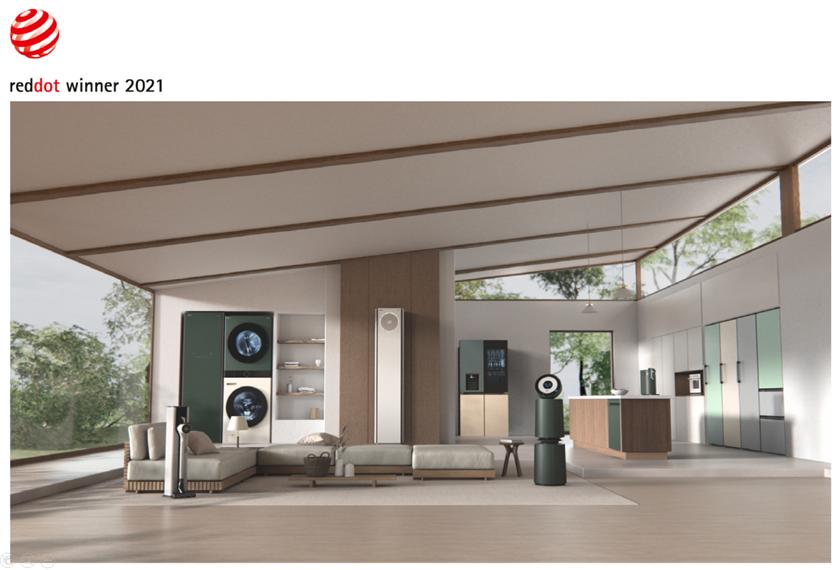 LG전자 공간 인테리어 가전 '오브제컬렉션'이 세계 3대 디자인상 가운데 '레드닷 디자인 어워드'와 'iF 디자인 어워드'를 연이어 수상하며 디자인 우수성을 입증했다. 사진 왼쪽부터 LG 오브제컬렉션 청소기, 스타일러, 워시타워, 휘센 타워, 상냉장 하냉동 냉장고, 공기청정기, 식기세척기, 정수기, 광파오븐, 1도어 냉장·냉동·김치 컨버터블 냉장고, 김치 냉장고.