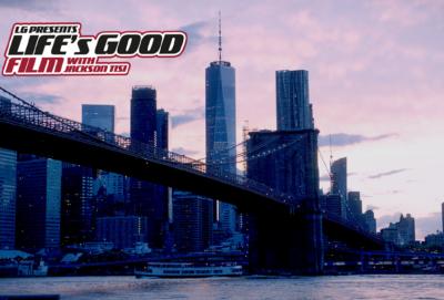 Life's Good 캠페인 '잭슨 티시'와 함께하는 무비 프로젝트!