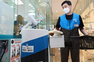 LG전자, 로봇 실내배달 서비스 확대