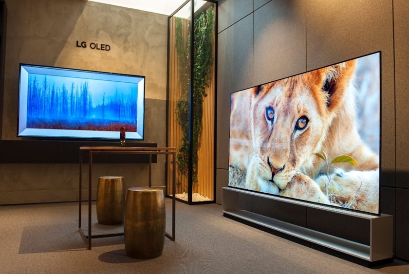 파리 생제르맹 거리에 문을 연 LG 올레드 TV 갤러리 스토어