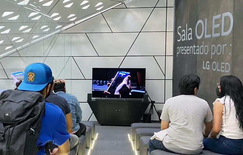 LG전자, 멕시코에 올레드 TV 전용 상영관 열었다