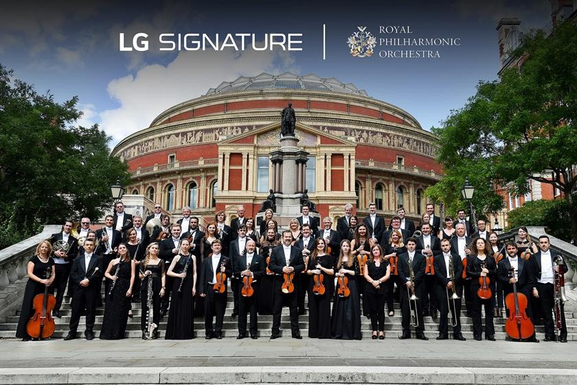 세계적 오케스트라와 'LG 시그니처' 超프리미엄 가치 알린다