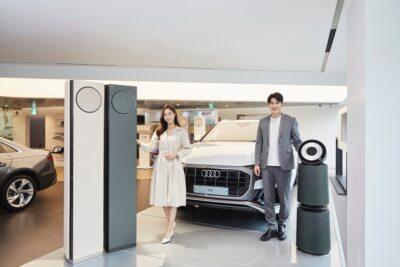 LG 휘센 타워 에어컨, 獨 프리미엄 자동차 아우디와 공동 마케팅