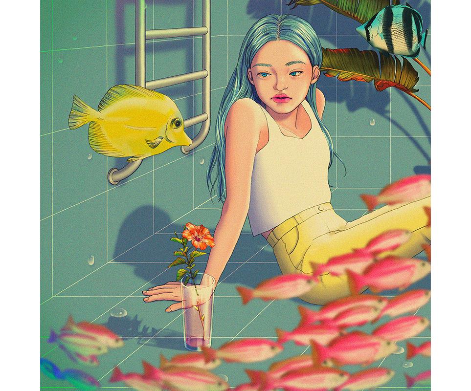 정5 작가의 아트워크 '🐠(물고기)'