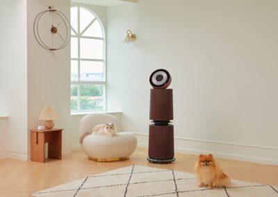 반려동물 가구 위한 LG 공기청정기 신제품 출시