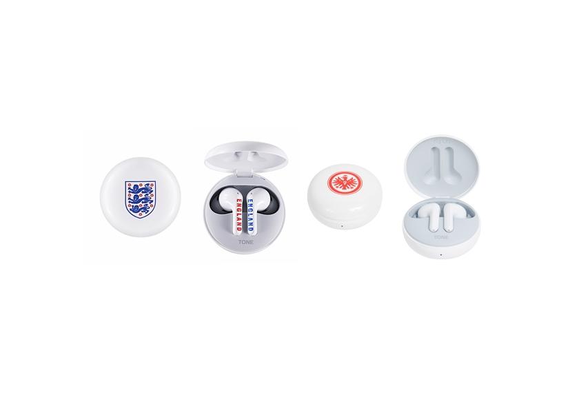 'LG 톤프리', 유럽 축구 팬 공략