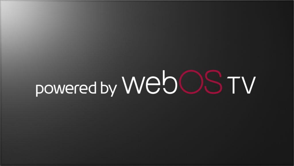 LG전자의 TV 운영체제인 독자 소프트웨어 플랫폼 webOS 브랜드 로고