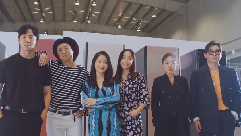 왼쪽부터 이번 '스타일 리바이벌 프로젝트'에 참여한 강요한, 한동철, 변혜정, 박민선, 이시안, 서광준 디자이너.