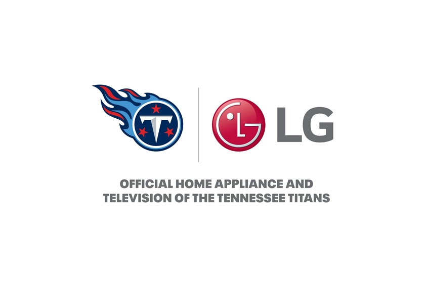 LG전자, 美 NFL '테네시 타이탄스' 공식 후원
