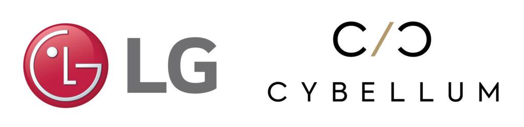 LG전자와 사이벨럼의 로고 이미지