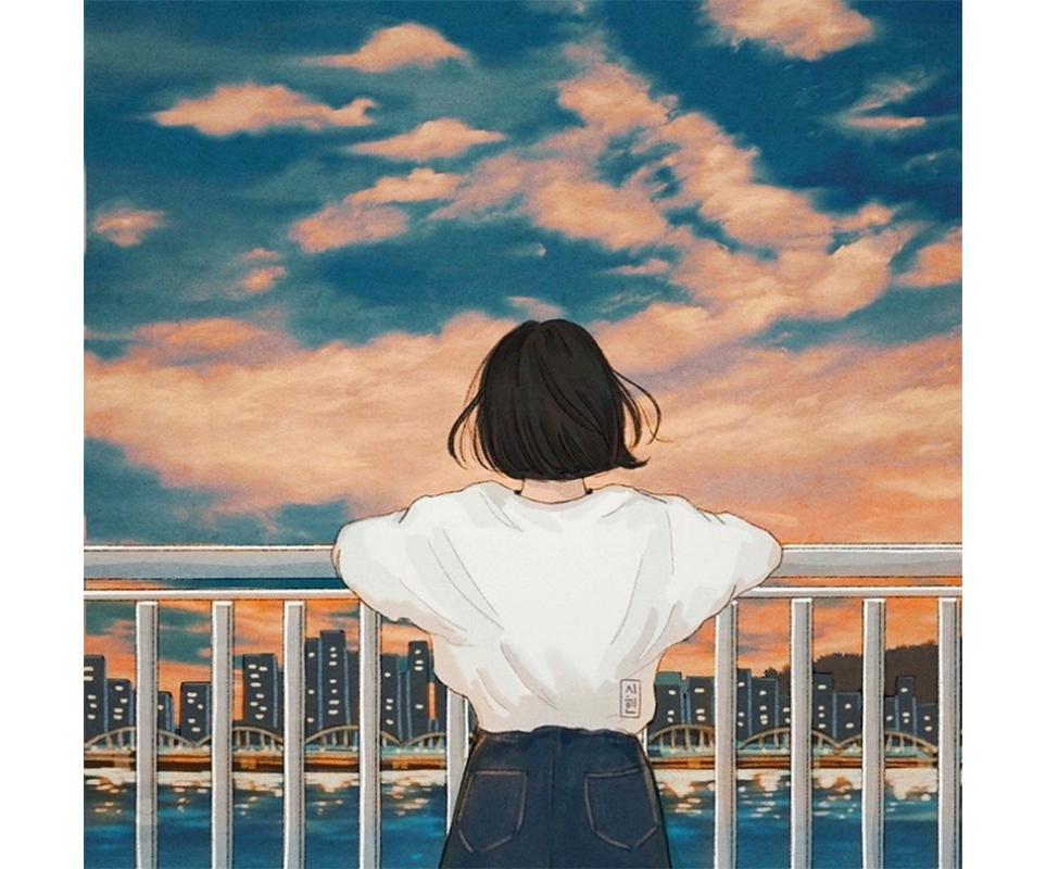 시현 작가의 아트워크 'After moon'