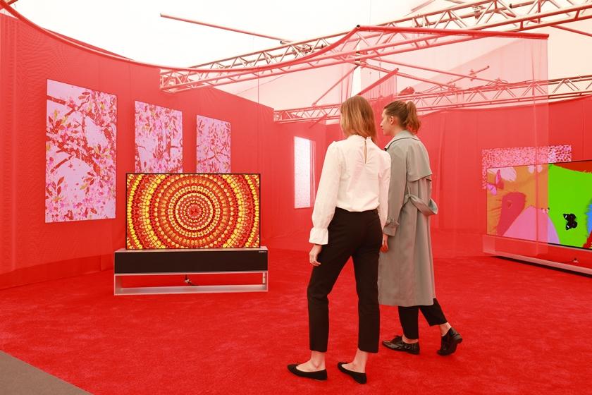 세계적인 아트페어 '프리즈'서 예술 작품으로 거듭난 LG 올레드 TV