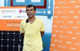 수몰 위기에 처한 아름다운 섬, 몰디브를 구하라