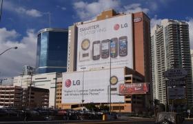 LG의 미친 존재감을 보여준 CES 2011 현장 뒷이야기
