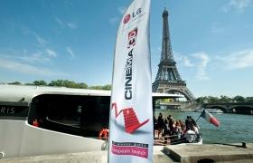 LG 시네마 3D TV를 파리의 심장부에서 첫 공개한 까닭은?
