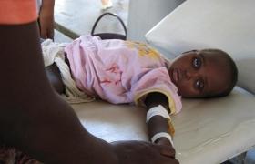 콜레라로 죽어가는 어린이에게 생명의 백신을 선물하세요!