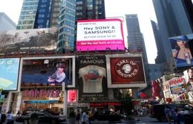 LG가 미국에서 공격적인 3D 광고를 한 까닭은?