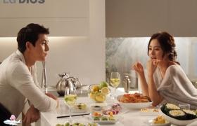 김태희•정우성의 디오스 김치냉장고 광고 촬영현장을 가다