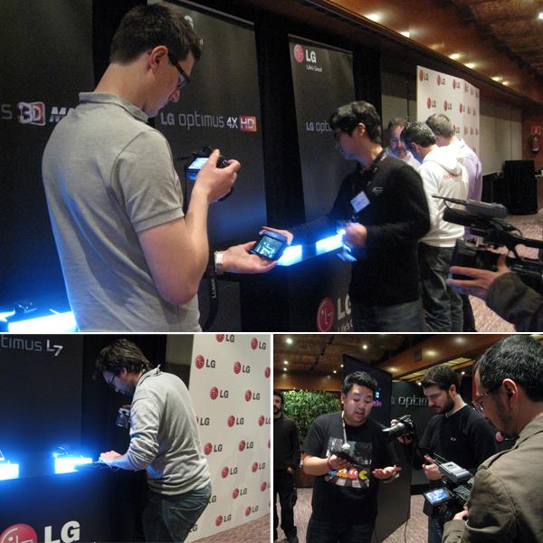 MWC LG Blogger Day 현장