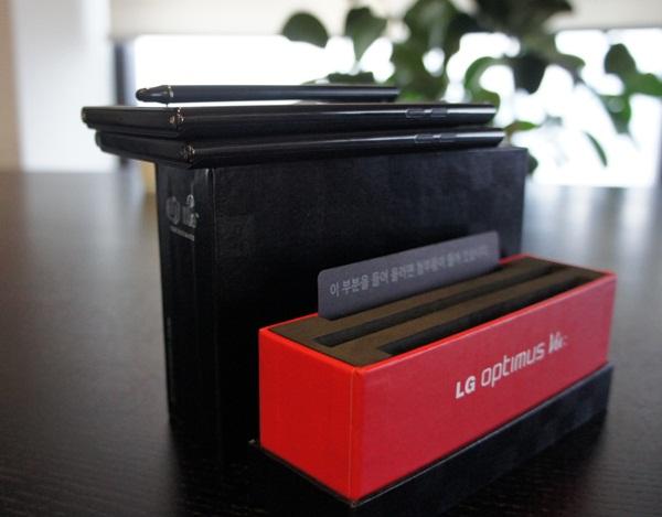 옵티머스 뷰 제품 박스 사진