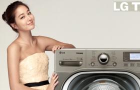 이민정씨와 함께 한 LG트롬세탁기 광고 촬영 현장
