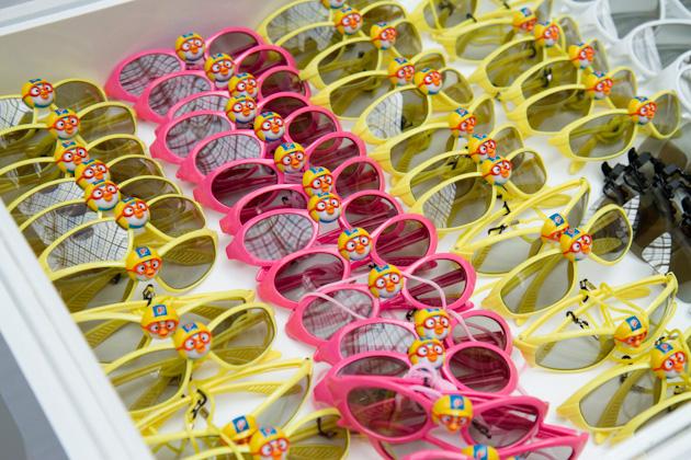 뽀로로 3D 안경 사진