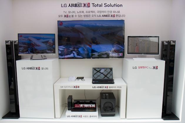 LG 시네마 3D TV부터 노트북, 일체형PC, 모니터, 홈씨어터까지 LG 시네마 3D 토탈 솔루션 사진