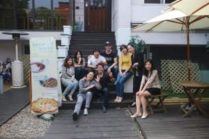 블로거들의 단체 기념 사진