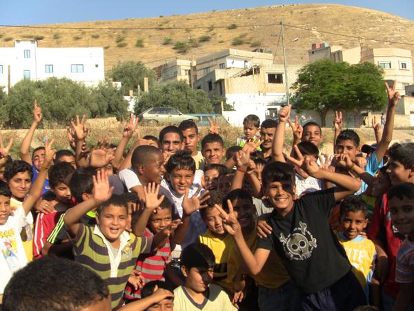 중동지역 사람들의 사진