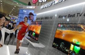 월드 IT쇼에서 만난 꿈의 TV 'OLED 3D TV'