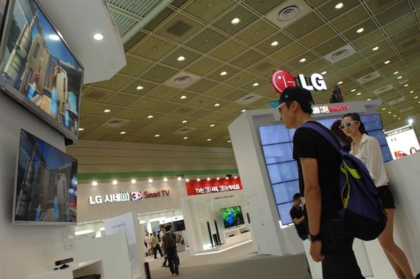 시네마 3D Smart TV (55LM9600) 사진